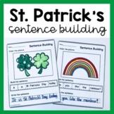 St. Patrick's Day Sentence Building