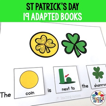 St Patrick's Day Adapted Books, Sentence Building