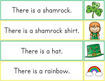 St. Patrick's Day Sentence Matching