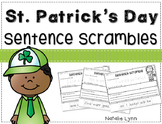 St. Patrick's Day Sentence Scrambles