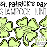 St. Patrick's Day Clover Hunt EDITABLE
