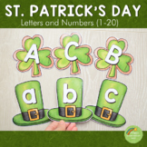 St. Patrick's Day Shamrock Letter and Number Cards