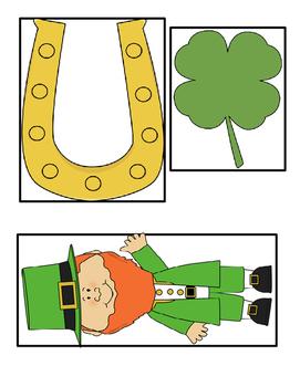 St Patrick's Day Shamrock Measuring