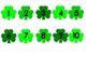 St Patrick's Day Shamrock Number Match File Folder