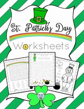 St. Patrick's Day Shamrock Sentences
