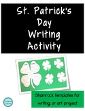St. Patrick's Day Shamrock Templates for Writing/Art