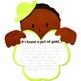 St Patricks Day Shamrock craft and writing activity