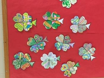 St. Patrick's Day - Shamrock of Wishes