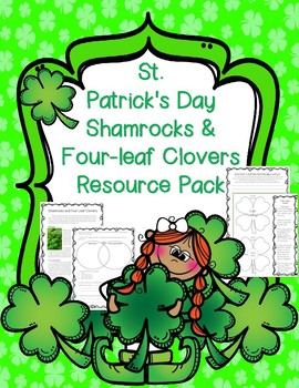 St Patrick's Day Shamrocks Four-leaf Clovers Nonfiction Passage Opinion Writing