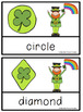 St. Patrick's Day Shape Cards
