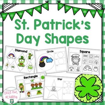 St. Patrick's Day Shapes