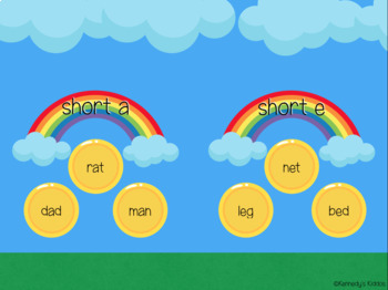 St. Patrick's Day Short Vowels (Great for Google Classroom!)