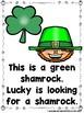 St. Patrick's Day Sight Word Emergent Reader Bundle and Teacher Lap Books