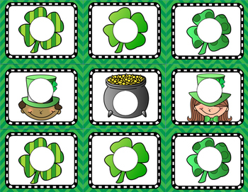 St. Patrick's Day Sight Word Scratch Off Cards and Writing Paper