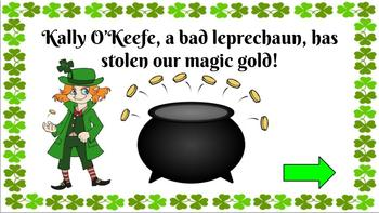 St. Patrick's Day Sight Words Interactive Game 1