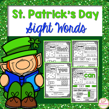 St. Patrick's Day Sight Words   Word Families