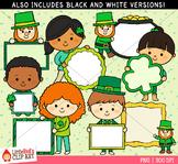St. Patrick's Day Sign Kids Clip Art