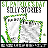 St. Patrick's Day Silly Stories Activity   Practice Parts of Speech