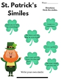 St. Patrick's Day - Similes and Metaphors (Figurative Language)