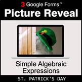 St. Patrick's Day: Simple Algebraic Expressions - Google F