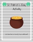 St. Patrick's Day Simple Webquest