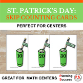 St. Patrick's Day: Skip Counting Cards