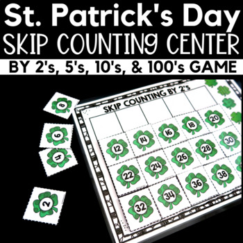 St. Patrick's Day Skip Counting Center Game