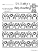 St. Patrick's Day: Skip Counting by 5's - Card Sort Center and Worksheet