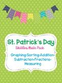 St. Patrick's Day Skittles Math