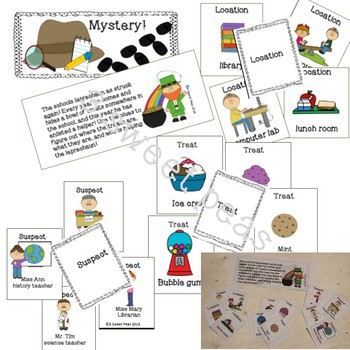 St. Patrick's Day Sleuth: fraction and grammar mystery