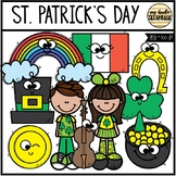 St. Patrick's Day Smiley Friends (Clip Art for Personal &