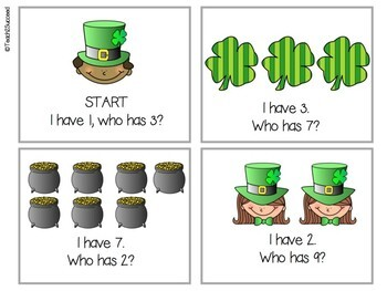 St. Patrick's Day Social Skills Pack!