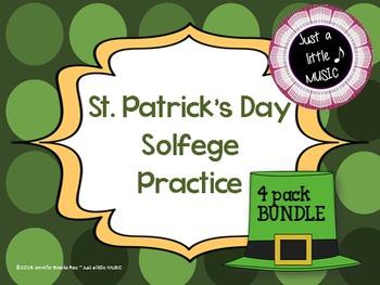 St. Patrick's Day Solfege Reading Practice Interactive Gam