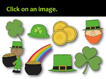 St. Patrick's Day Solfege Reading Practice Interactive Game {la}