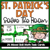St. Patrick's Day Math Task Cards(or Scoot!)