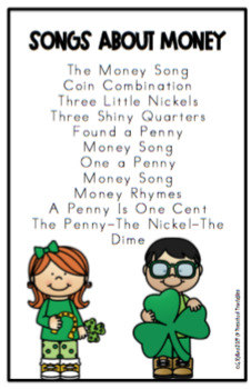 St. Patrick's Day Songs and All About Money