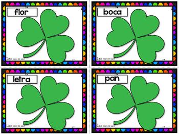 St.Patrick's Day Spanish Activities - Día de San Patricio - BUNDLE