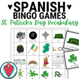 Spanish St. Patrick's Day Bingo - El Dia de San Patricio #TeachMoreSpanish