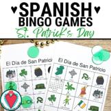 Spanish St. Patrick's Day Bingo - El Dia de San Patricio