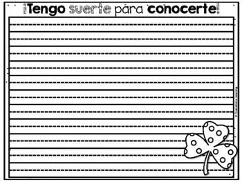St. Patrick's Day – Spanish – Feliz día de San Patricio