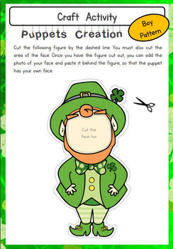 St. Patrick's Day - Pack for Kinder and Grades 1 & 2 - Language, Math & Games