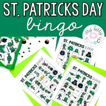 St. Patrick's Day Speech & Language Bingo - FREEBIE