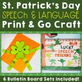 St. Patrick's Day Speech and Language Craft