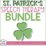 St. Patrick's Day Speech Therapy Bundle!