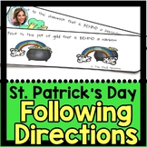 St. Patrick's Day Speech Therapy | St. Patrick's Day Speech and Language | March