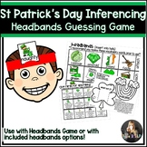 St Patrick's Day Speech Therapy Headbands Game Companion: Inference Game
