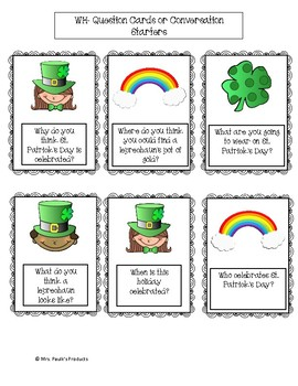 St. Patrick's Day Speech and Language