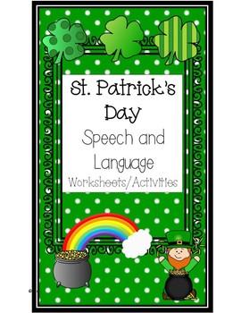 St. Patrick's Day Speech and Language