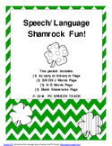 St. Patrick's Day Speech and Language Fun