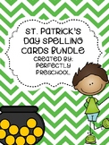 St. Patrick's Day Spelling Cards Bundle